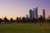 Perth, Picnic after sunset.